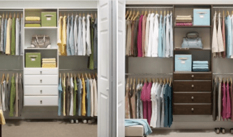 HomeDepot.com: Closet Organizers on SALE + Free Shipping!