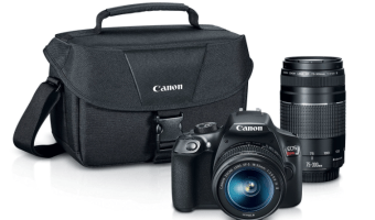 Canon EOS Rebel T6 Digital SLR Camera Kit at BLACK FRIDAY Price!