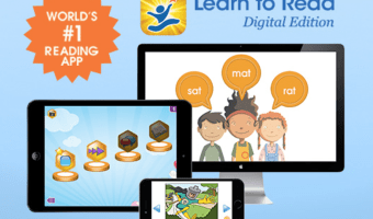 One Year FREE Hooked on Phonics Learn to Read App Subscription ($39.99 Value!)