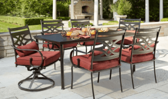 Hampton Bay Middletown 7-Piece Patio Dining Set ONLY $399!