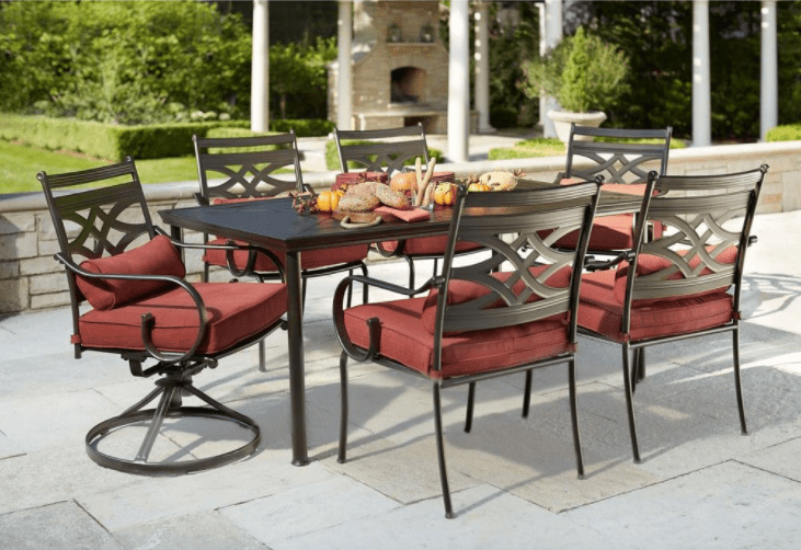 Hampton Bay Middletown 7 Piece Patio Dining Set ONLY  299 Hampton Bay Middletown 7 Piece Patio Dining Set ONLY  299   . Outdoor Dining Chairs Only. Home Design Ideas