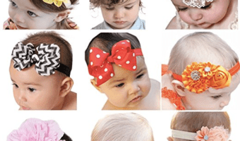 Baby Girl Hair Bow Headband Set Just $8.99!