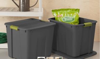 Sterilite 20 Gallon Storage Totes ONLY $5 Each!