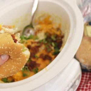 Crockpot Chicken Sandwiches – Easy Dinner Recipe