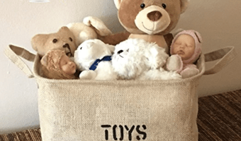 Jute Toy Baskets Starting at Only $10.47