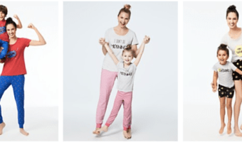 Mommy & Me Pajama Sets Starting at $8.26