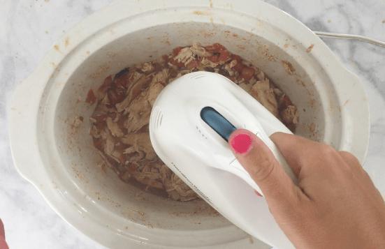 shredded chicken slow cooker