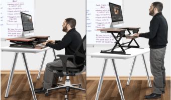 Sit & Stand Desk at Best Price, Just $168.30 (Reg. $599)