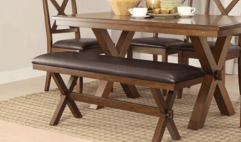 Better Homes and Gardens Maddox Crossing Dining Bench just $69