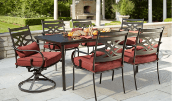 Middletown Rectangular Patio Dining Table just $74.75