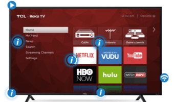 """TCL 55"""" Class 4K HDR Roku Smart LED TV Only $398"""