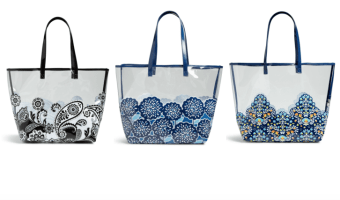 Vera Bradley Clearly Colorful Tote Bag Ships for $17.99