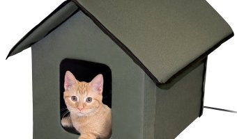 KandH Pet Products Outdoor Kitty House At The Lowest Price