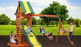 Backyard Discovery Prestige All Cedar Wood Playset At 42% Off