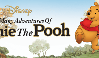 40% Off The Many Adventures of Winnie the Pooh on DVD
