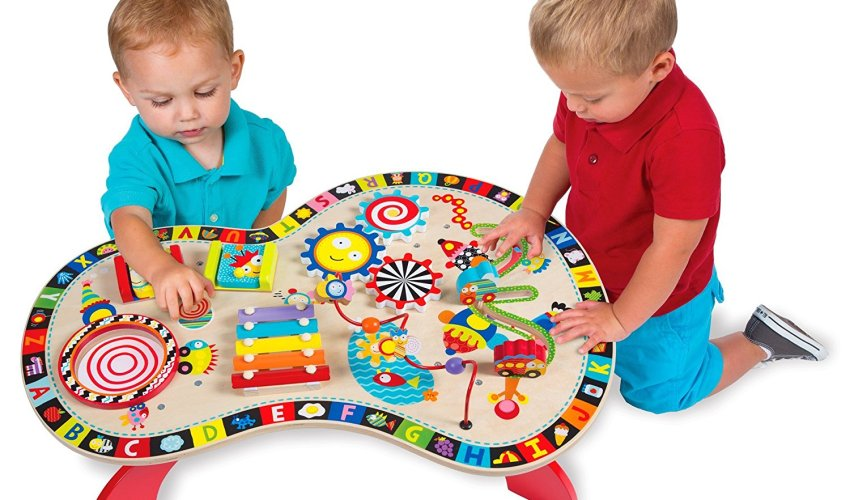 ALEX Jr. Sound and Play Busy Table At A Low Price