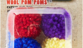 Low Price On Ethical Pet 4-ct. Wool Pom Poms Cat Toys