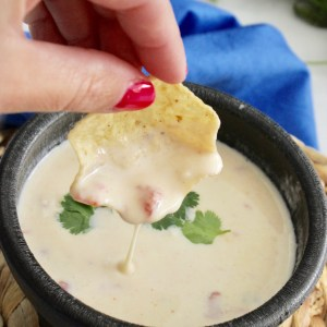 Real Cheese Queso Dip Appetizer Recipe