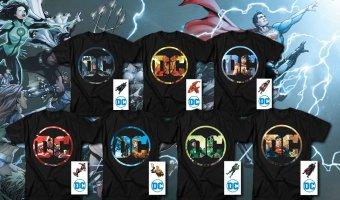 Save Big On DC Comics Justice League T-Shirts