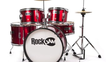 78% Off RockJam Complete 5-Piece Junior Drum Set