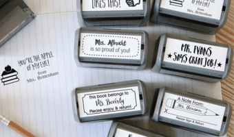Self Inking Teacher Stamps Ship for $12.98