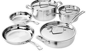 Cuisinart Cookware Sets Starting At $139.99 (reg. $400+)