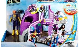 DC Super Hero Girls Batgirl & Vehicle Playset $15.99 (reg. $34.99)