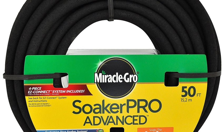 Miracle Gro 50 ft Premium Soaker Hose $5.00