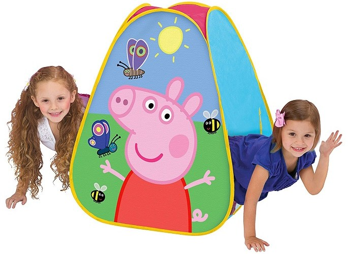 Playhut Peppa Pig Classic Hideaway Playhouse $9.99 (reg. $14.99)