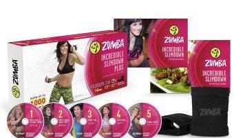 Zumba Fitness Incredible Slimdown DVD System $16.87 (reg. $24.95)