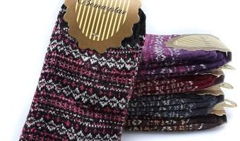 5-pack Nordic Wool Women's Winter Socks $5.98 (reg. $21.86)