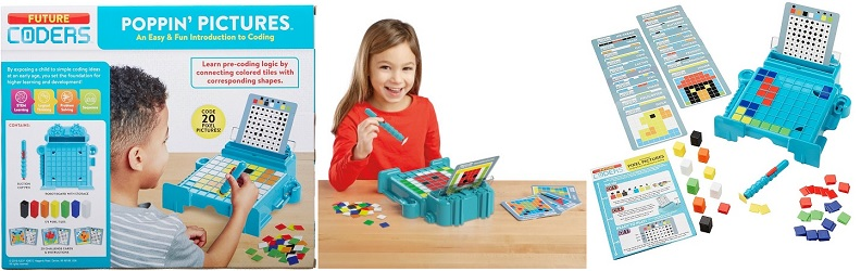 ALEX Toys Future Coders Poppin' Pictures Coding Skills Kit $5.37 (reg. $19.99)