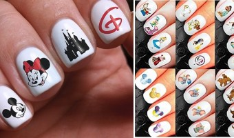 Disney Classic Nail Art 400ct. Decals $9.99 + FREE Shipping