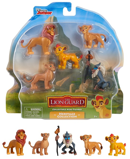 Just Play Lion Guard 5Pk