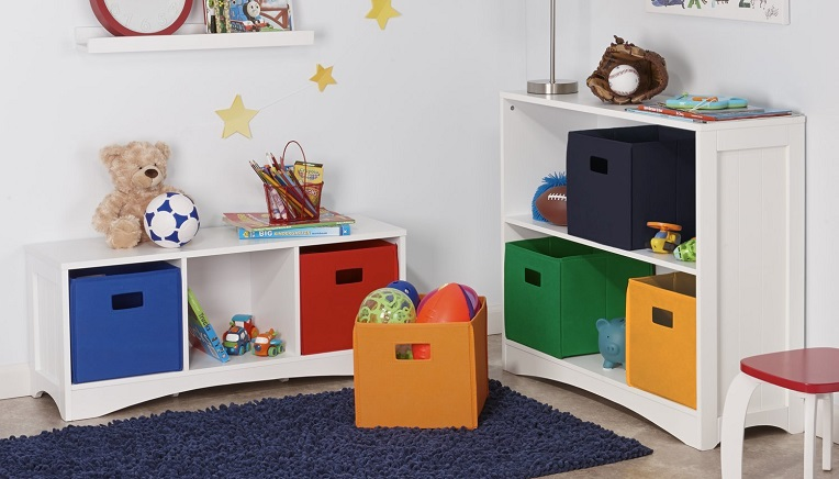 RiverRidge Kids 2-pack Red Soft Storage Bins $4.34 (Was $6.16)