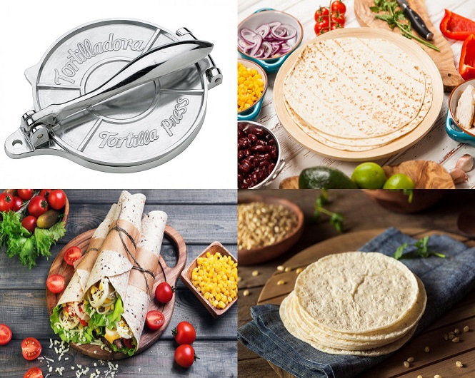 Tortilla Press for 6-Inch Tortillas