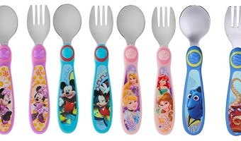 The First Years Disney Easy Grasp Flatware $2.48 (Was $4.99)