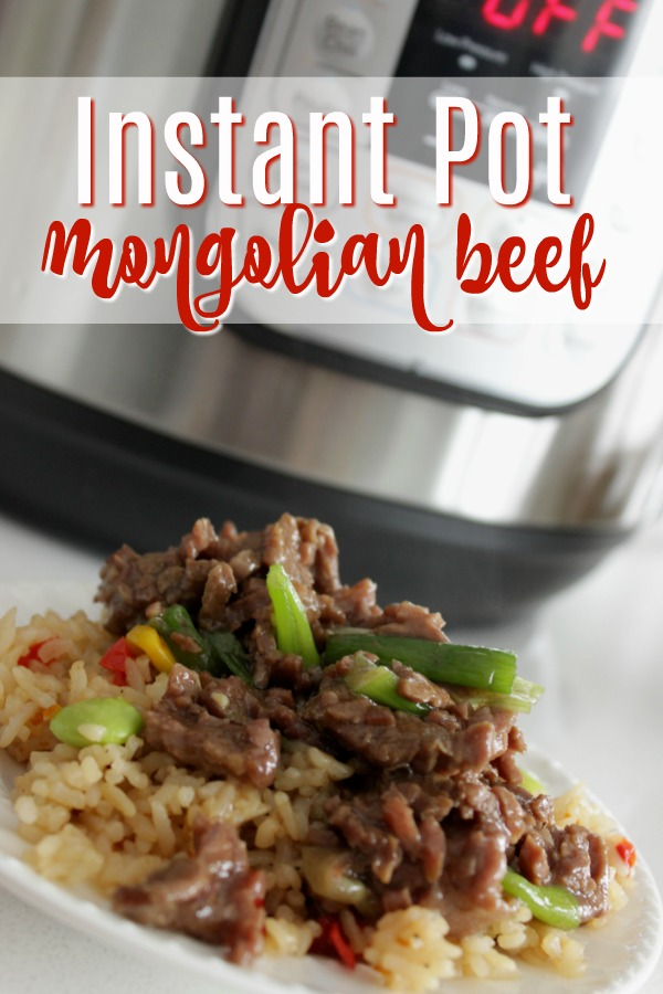 This Instant Pot Mongolian Beef is one of those Instant Pot recipes that you can make with your eyes closed. Pressure cooker meals are known for being easy, but this one is the cream of the crop! If you're stuck on how to use a pressure cooker and need easy Instant Pot Beef recipes, this is for you! Full directions included! #instantpot