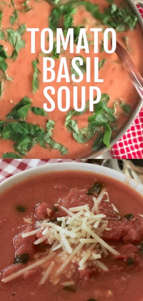 This creamy tomato bisque soup is the best tomato basil soup you can make at home. It tastes JUST like the restaurant!