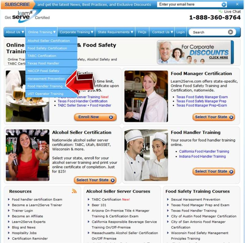 learn to serve food handlers answers