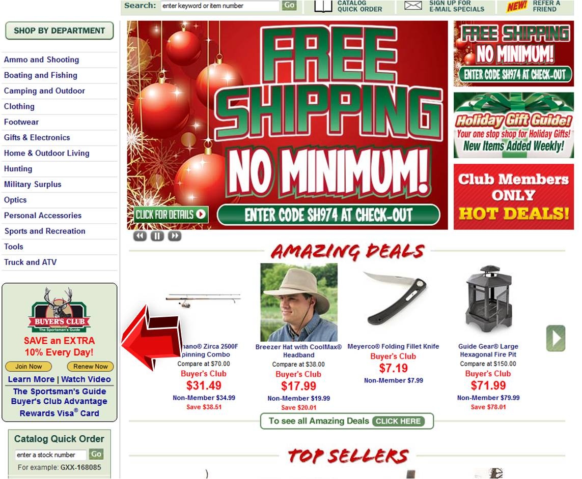 Sportsmans Guide Coupon 2013 Coupon Code