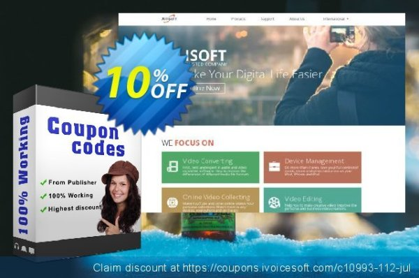 [10% OFF] Xilisoft iPhone Software Suite Coupon code, Aug ...