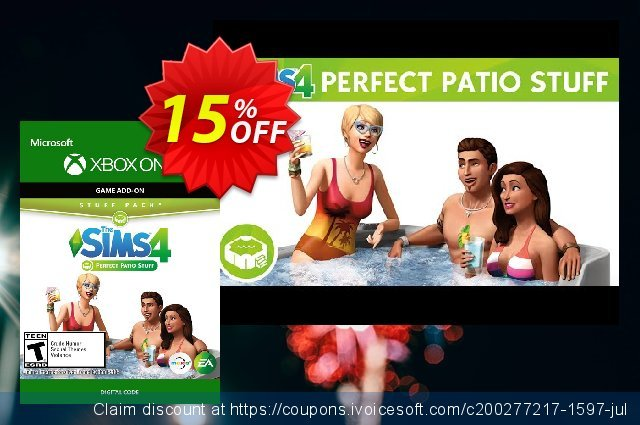 15 off the sims 4 perfect patio