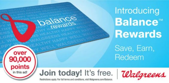 Walgreens Balance Rewards Coupons Points