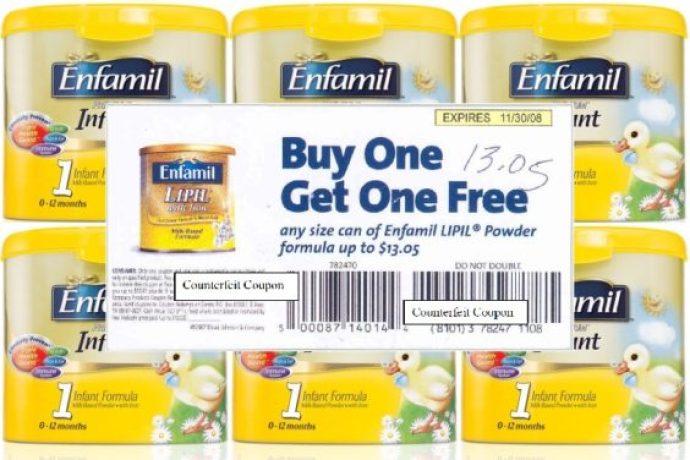 Discount coupons for enfamil formula