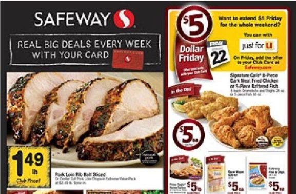 Safeway circular