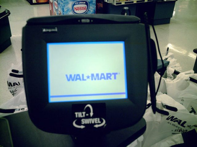 Walmart checkout
