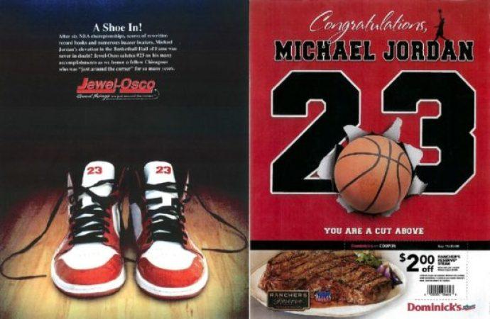 Michael Jordan ads