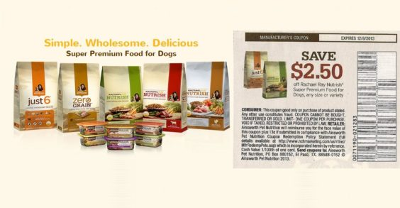 image relating to Printable Rachael Ray Dog Food Coupons referred to as Rachael Ray Nutrish Coupon Factors Confusion - Discount codes inside of the