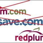 Remember When RedPlum.com Became Save.com/Coupons? Never Mind.